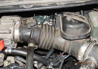 Установка ГБО на Nissan Almera