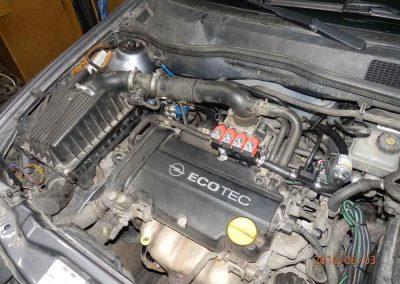 Установка ГБО на Opel