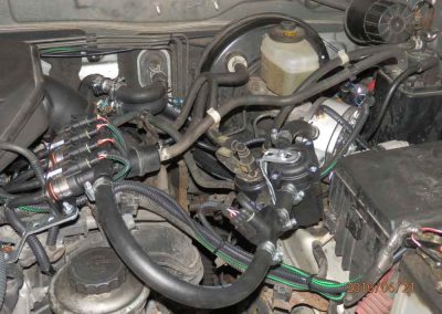 Установка ГБО на Toyota Prado