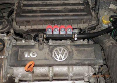 Установка ГБО на Volkswagen Polo