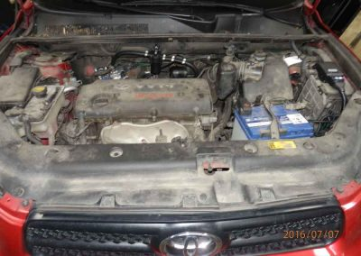 Установка ГБО на Toyota RAV4