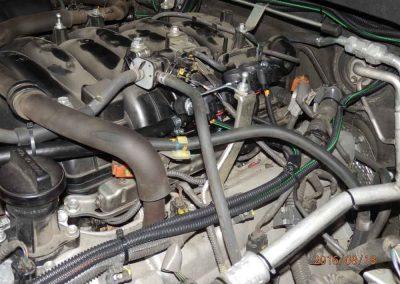 Установка ГБО на Lexus LX570