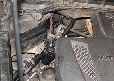 Установка ГБО на Mazda CX-7