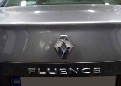 Установка ГБО на Renault Fluence