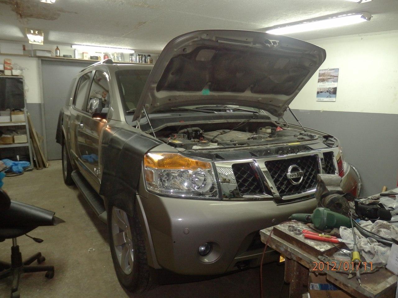 Nissan Armada v8 LE (4-е поколение) +